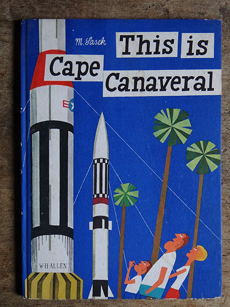 Vintage 'This is Cape Canaveral' book cover