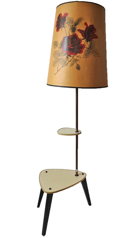 Vintage atomic table lamp for sale on eBay for Charity by & in support of St Kentigern Hospice