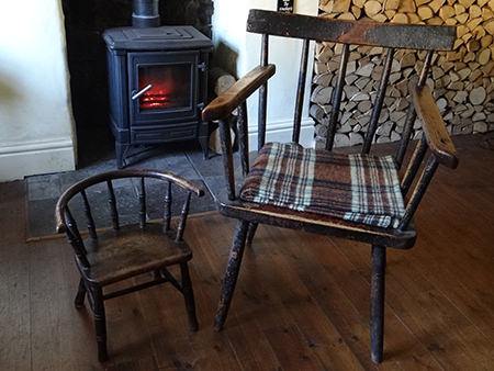 Pair of 19th century chairs