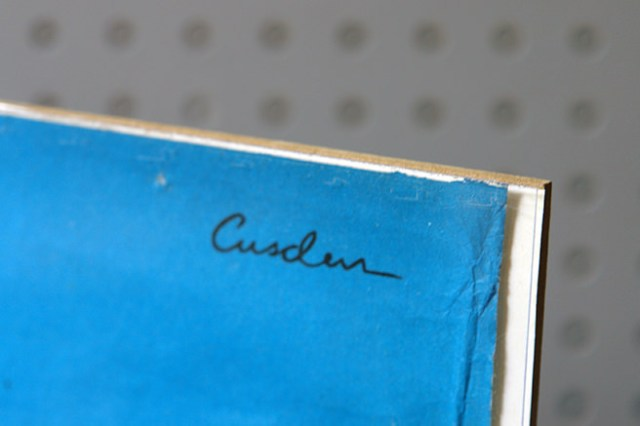 Leonard Cusden signature