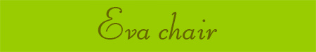 'Eva chair' blog post banner