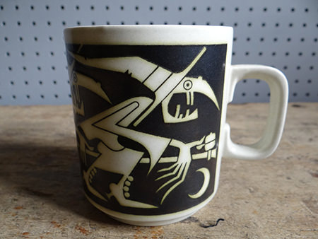 Vintage Hornsea Halloween mug | H is for Home