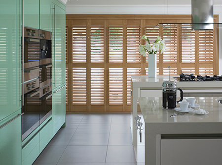 Thomas Sanderson kitchen shutters
