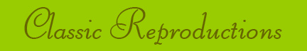 'Classic Reproductions' blog post banner