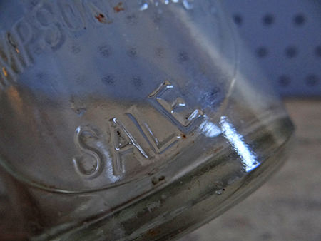 vintage milk bottle from Sale in Greater Manchester | H is for Home