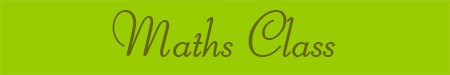 'Maths Class' blog post banner