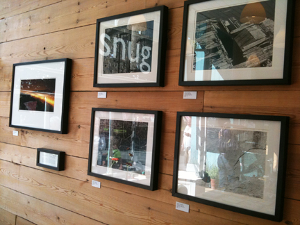 selection of photographic prints by Edward Chadwick, owner of Snug Galley, Hebden Bridge