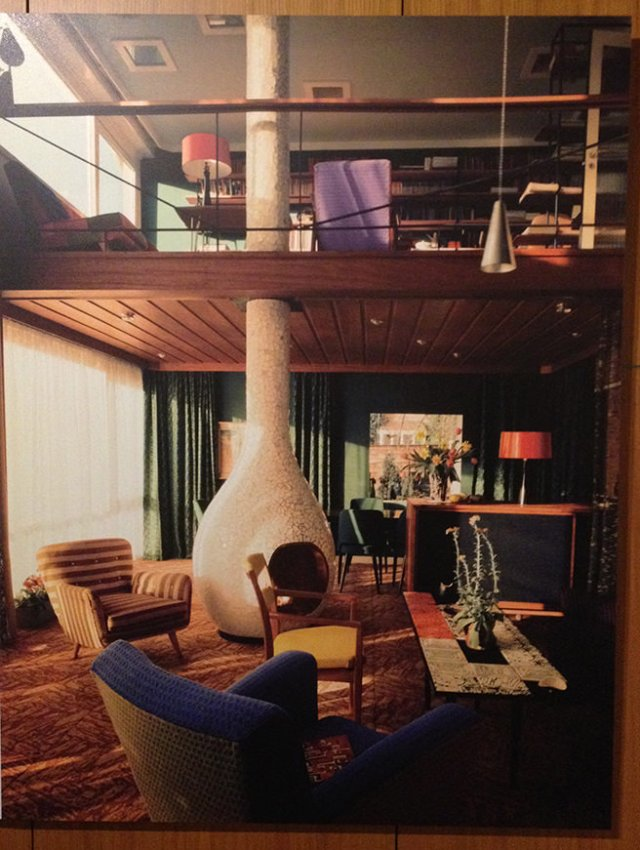 Tibor Reich's sitting room which he designed himself | H is for Home