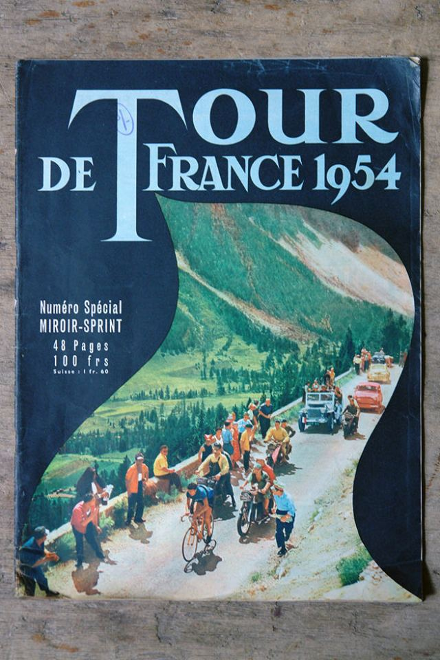 Tour de France magazine from 1954 | H is for Home