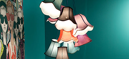 hanging lamp from Casafina