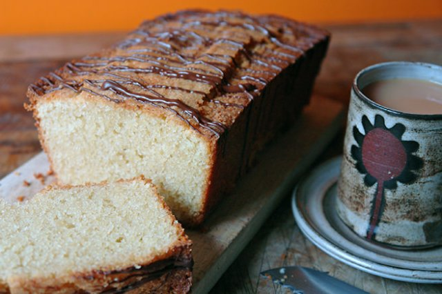Home-made almond loaf cake | H is for Home