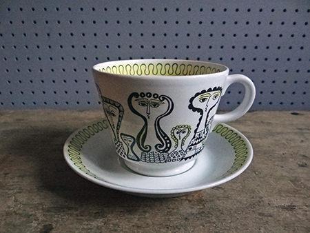 Vintage Birger Kaipiainen cup & saucer