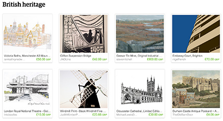 'British heritage' Etsy List curated by H is for Home