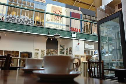 Café Aromat at the Manchester Craft & Design Centre
