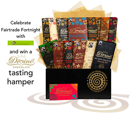 Divine Chocolate Fairtrade Fortnight competition | H is for Home