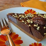 Cakes & Bakes: No bake double choc nut tart