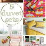 Gimme Five! Duvet sets