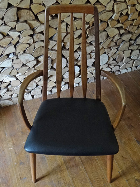 Vintage Eva chair by Koefoeds Hornslet of Denmark