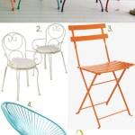 Gimme Five! Garden chairs