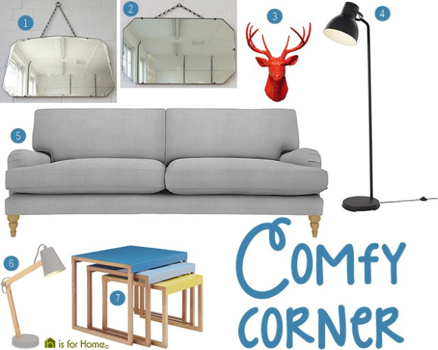 Get their look: Comfy corner | H is for Home
