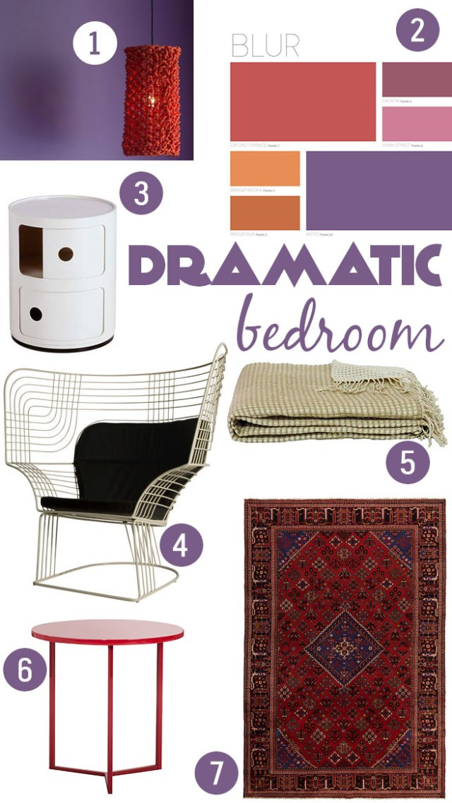 Get their look: Dramatic bedroom | H is for Home