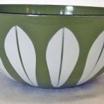 Charity Vintage: Green Cathrineholm bowl