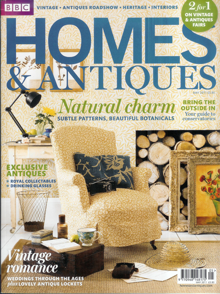 BBC Homes & Antiques magazine cover, May 2011