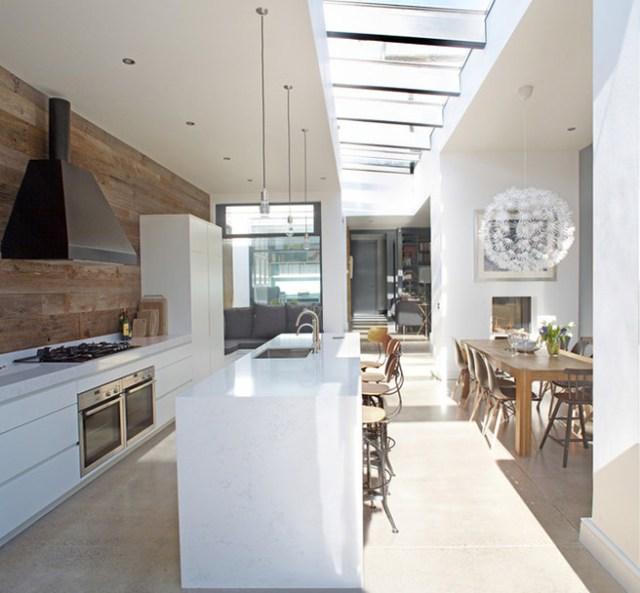 Light-filled kitchen diner
