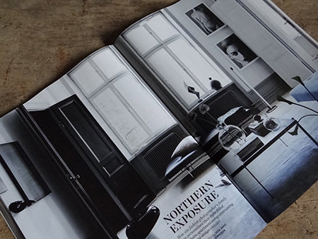 'Northern Exposure' article in Elle Decoration magazine