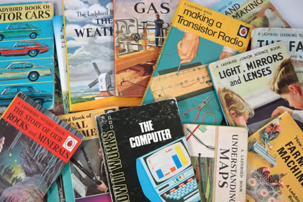 Collection of vintage science Ladybird books | H is for Home