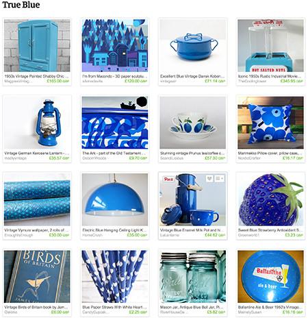 'True Blue' Etsy list