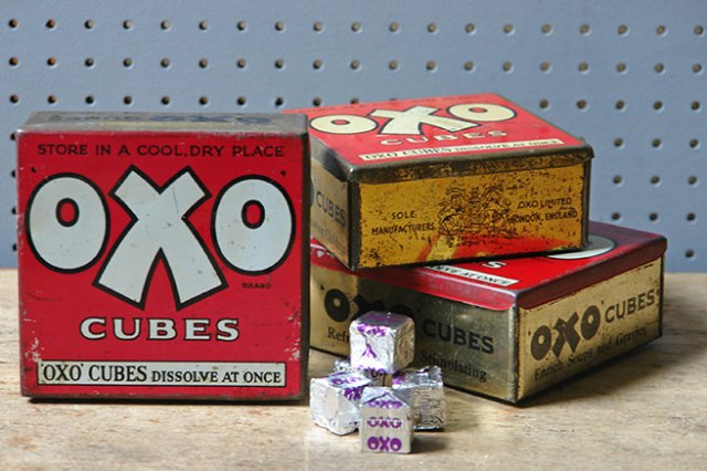 Three types of vintage Oxo tin | H is for Home
