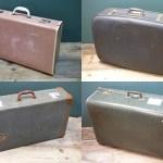 Charity Vintage: Vintage suitcases