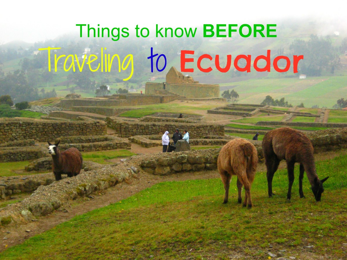 Things To Know Before Traveling To Ecuador