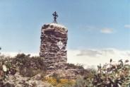 Croix de mission du Calmeill. Voir article histoire en 1638, ça vaut le détour...
