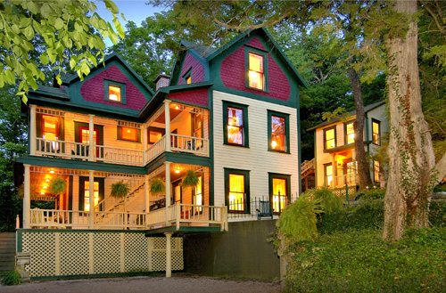 Town Cottages Eureka Springs AR