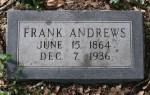 Glenwood Cemetery, Frank Andrews