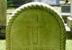 Iconography: Cross, Glenwood Cemetery
