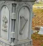 Iconography: Harp, Hollywood Cemetery