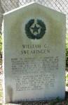 Founders' Memorial, William Swearingen