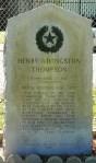 Founders' Memorial, Henry Thompson