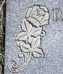 Iconography: rose, Forest Park Lawndale