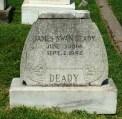 Glendale Cemetery, James Deady