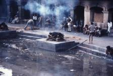 Funeral Pyre, India