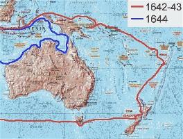De expedities van Abel Tasman