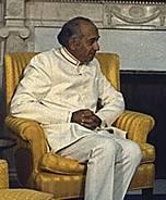 Ali Bhutto in 1974