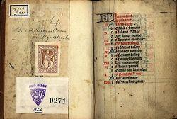 Getijdenboek met teksten van Geert Grote