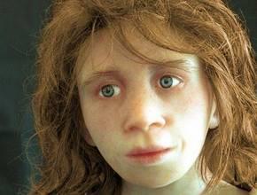 Reconstructie van het gezicht van een Neanderthaler uit de omgeving van Gibraltar
