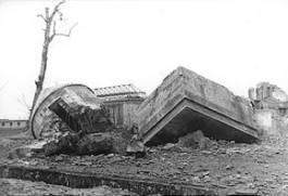 Restanten van Hitlers bunker