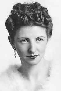 Rosa Glaser in 1941 (familiearchief Glaser)